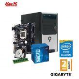ACom Intel STARTER 100-G6 - ohne Win - Intel Celeron G3900 - 4 GB RAM - 1 TB HDD - DVD-Brenner - Intel HD 510  - USB 3.0 - 350 Watt