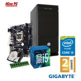 ACom Intel STARTER 140-G6 - ohne Win - Intel Core i5-6400 - 4 GB RAM - 1 TB HDD - DVD-Brenner - Intel HD 530 - USB 3.0 - 420 Watt