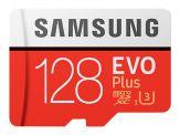 Samsung EVO Plus MB-MC128G - Flash-Speicherkarte (microSDXC-an-SD-Adapter inbegriffen) 128 GB - UHS-I U3 / Class10 - microSDXC UHS-I