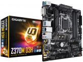 Gigabyte Z370M D3H - 1.0 - Motherboard - micro ATX - LGA1151 Socket - Z370 - USB 3.1 - Gb LAN - Onboard-Grafik (CPU erforderlich) - HD Audio (8-Kanal)