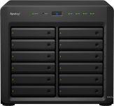 Synology Disk Station DS3617xs NAS-Server - 12 Schächte - SATA 6Gb/s - RAID 0 - 1 - 5 - 6 - 10 - JBOD - 5 Hot Spare - 6 Hot Spare - 10-Hot-Spare - 1 I