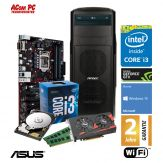 ACom Ultra Gamer G7 i3-1050Ti - Win 10 - Intel Core i3-7100 - 8 GB RAM - 1 TB HDD - DVD-Brenner - GeForce GTX 1050Ti - USB 3.0 - 400 Watt