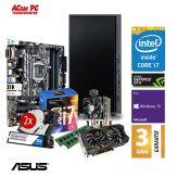 ACom Business CHEF PC 250 - Win10 Pro - Intel Core i7-7700 - 16 GB RAM - 250GB SSD M.2 + 2x 1TB HDD Raid - DVD-Brenner - GTX 1050Ti - 3 Jahre Garantie