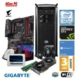 ACom Intel Gen. 8 Gaming 2018 - G8 i7-1080Ti - Win10 - Intel Core i7-8700K - 16GB RAM - 525GB SSD + 2TB HDD - DVD-RW - GTX1080 Ti - WLAN - 3J Garantie