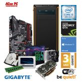 ACom Intel Gen. 8 Gaming 2018 - G8 i5-1060 V2 - Win 10 - Intel Core i5-8600K - 16 GB RAM - 525 GB SSD + 1 TB HDD - DVD-Brenner - GTX 1060 6GB - WLAN