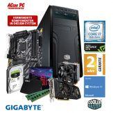 ACom Sommer Special Gen. 8 i7-1060 - Win 10 - Intel Core i7-8700K - 16 GB RAM - 256 GB SSD + 1 TB HDD - GF GTX 1060 - 500 Watt