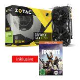ZOTAC GeForce GTX 1070 Ti Mini Grafikkarten - GF GTX 1070 Ti - 8 GB GDDR5 - PCIe 3.0 - DVI - HDMI - 3 x DisplayPort - gunmetal-grau