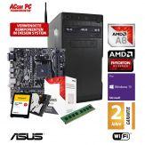 ACom Sommer Special 2018 V3 - Win 10 Pro - AMD A8-9600 - 8 GB RAM - 120 GB SSD M.2 + 1 TB HDD - DVD-Brenner - AMD Radeon R7 Graphics - USB 3.0 -WLA