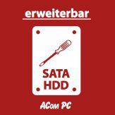 """Seagate Festplatte - 1 TB, intern 2.5"""" inkl. Einbaukosten in ein Notebook"""