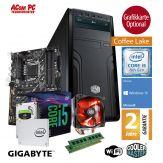 ACom Winter Special Gen. 8 i5-8400 - Win 10 - Intel Core i5-8400 - 8 GB RAM - 240 GB SSD + 2 TB HDD - 600 Watt Netzteil - Grafikkarte optional