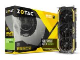 ZOTAC GeForce GTX 1070 Ti AMP Extreme Grafikkarten - GF GTX 1070 Ti - 8 GB GDDR5 - PCIe 3.0 - DVI - HDMI - 3 x DisplayPort
