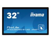 "Iiyama ProLite TF3238MSC-B1AG - LED-Multitouch - 80 cm (31.5"") - 1920 x 1080 - AMVA3 - 500 cd/m² - 3000:1 - 8 ms - HDMI, DVI, VGA, DP - Schwarz"