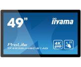 Iiyama DS TF4938UHSC 123cm Touch 24/7 Dauerbetrieb geeignet, 3840 x 2160 @60Hz (8.3 megapixel 4K UHD), 12-Punkt Multitouch Kapazitiv, open frame
