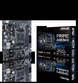 ASUS PRIME A320M-E - Motherboard micro ATX - Socket AM4 - AMD A320 - USB 3.1 - Gigabit LAN - Onboard-Grafik (CPU erforderlich) - HD Audio (8-Kanal)
