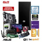 ACom Business CHEF PC Ultra - Win10 Pro - Intel Core i7-8700K - 16 GB RAM - 500 GB SSD + 1TB HDD - DVD-Brenner - GT 1030 - WLAN - 3 Jahre Garantie