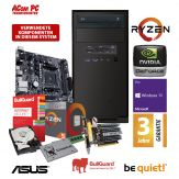 ACom Business CHEF PC Ryzen - Win 10 Pro - AMD Ryzen 5 1400 - 8 GB RAM - 240 GB SSD + 1 TB HDD 24/7 - DVD-Brenner - GeForce GT 730 2 GB  - 3 Jahre Gar