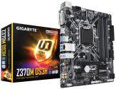 Gigabyte Z370M DS3H - 1.0 - Motherboard - micro ATX - LGA1151 Socket - Z370 - USB 3.1 Gen 1 - Gigabit LAN - Onboard-Grafik (CPU erforderlich)