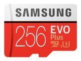 Samsung EVO Plus MB-MC256G - Flash-Speicherkarte (microSDXC-an-SD-Adapter inbegriffen) 256 GB - UHS-I U3 / Class10 - microSDXC UHS-I