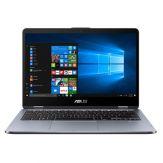 "ASUS VivoBook Flip 14 TP410UA-EC541T - 35.6 cm (14"") Full HD Touchscreen - Core i5 8250U - 8 GB RAM - 256 GB SSD M.2 - Windows 10"