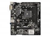 ASRock A320M-DGS - Motherboard micro ATX - Socket AM4 - AMD A320 - USB 3.0 - Gb LAN - Onboard-Grafik (CPU erforderlich) - HD Audio (8-Kanal)