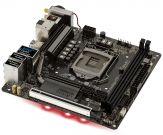 ASRock Fatal1ty Z370 Gaming-ITX/ac Motherboard - Mini-ITX - LGA1151 Socket - Z370 - USB 3.1 - Bluetooth - Gb LAN - Wi-Fi - Onboard-Grafik (CPU erford)
