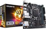 Gigabyte B360N (Wi-Fi) - Motherboard - Mini-ITX - LGA1151 Socket