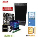 ACom Angebot des Monats Intel Core i3-8100 - Win 10 - 8 GB RAM - 120 GB SSD + 1 TB HD - DVD-Brenner - USB3.0 - 300 Watt