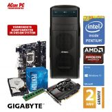 ACom Angebot des Monats Gaming G7-RX550 - Win 10 - Intel Pentium G4560 - 8 GB RAM - 1 TB HDD - DVD-Brenner - AMD Radeon RX 550 4GB - USB 3.0