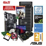 ACom Angebot des Monats Gaming i7-1070 - Win 10 - Intel Core i7-8700 - 8 GB RAM - 240 GB SSD + 1 TB HDD - DVD-Brenner - GeForce GTX 1070 8 GB
