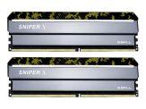 G.Skill SNIPER X - DDR4 - 16 GB: 2 x 8 GB - DIMM 288-PIN - 2400 MHz / PC4-19200 - CL17 - 1.2 V - ungepuffert - nicht-ECC - Digital Camo (Tarnfleck)