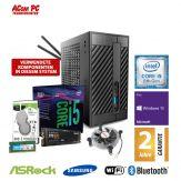 ACom Micro PC G8 - STX - Windows 10 Pro - Intel Core i5-8400 / 2.8 GHz - 8 GB RAM - 250 GB SSD M.2 NVMe + 1 TB HDD - WLAN, Bluetooth