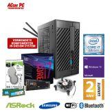 ACom Micro PC G8 - STX - Windows 10 Pro - Intel Core i7-8700 / 3.2 GHz - 16 GB RAM - 250 GB SSD M.2 NVMe + 1 TB HDD - WLAN, Bluetooth