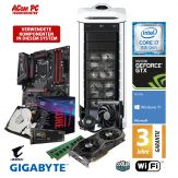 ACom Gaming Intel G8 - i7-1080Ti - Win 10 - Intel Core i7-8700K - 16GB RAM - 500 GB SSD M.2 NVMe + 2 TB HDD - DVD - GTX1080 Ti 11 GB - WLAN