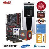 ACom Ultra Gamer - Win 10 - AMD Ryzen 5 1600X - 16 GB RAM - 525 GB SSD + 1 TB HDD - GTX1060 6GB - DVD-Brenner - USB 3.0 - 500 Watt Netzteil