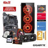 ACom Angebot des Monats Gaming AMD Ryzen 5-580 - Windows 10 - AMD Ryzen 5 2600 - 16 GB RAM - 500 GB SSD + 2 TB HDD - Radeon RX 580 8 GB