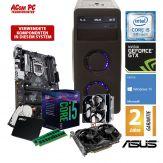 ACom Angebot des Monats Gaming i5-1080 Ti - Win 10 - Intel Core i5-8500 - 16 GB RAM - 480 GB SSD + 1 TB HDD - DVD-Brenner - GeForce GTX 1080 Ti 11 GB