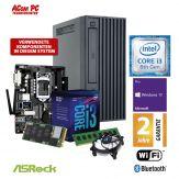 ACom Business Micro PC 120 2018 - Win 10 Pro - Intel Core i3-8100 - 8 GB RAM - 240 GB SSD - DVD-Brenner - Intel UHD Graphics 630 - WLAN - Bluetooth