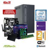 ACom Business Micro PC 130 2018 - Win 10 Pro - Intel Core i5-8400 - 8 GB RAM - 480 GB SSD - DVD-Brenner - HD Graphics 630 - WLAN - Bluetooth