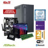 ACom Business Micro PC 140 2018 - Win 10 Pro - Intel Core i7-8700 - 16 GB RAM - 480 GB SSD - DVD-Brenner - HD Graphics 630 - WLAN - Bluetooth