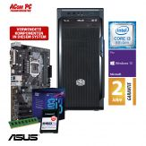 ACom i3 Allrounder G8 2018 - Windows 10 Pro - Intel Core i3-8100 - 8 GB RAM - 240 GB SSD M.2 NVMe - DVD-Brenner - USB 3.0 - 500 Watt