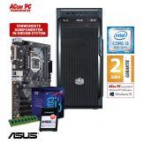 ACom i3 Allrounder G8 2018 - ohne Win - Intel Core i3-8100 - 8 GB RAM - 240 GB SSD M.2 NVMe - DVD-Brenner - USB 3.0 - 500 Watt
