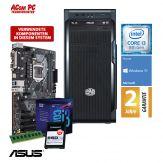 ACom i3 Allrounder G8 2018 - Windows 10 - Intel Core i3-8100 - 8 GB RAM - 240 GB SSD M.2 NVMe - DVD-Brenner - USB 3.0 - 500 Watt