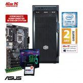 ACom i5 Allrounder G8 2018 - ohne Win - Intel Core i5-8400 - 8 GB RAM - 240 GB SSD M.2 NVMe - DVD-Brenner - USB 3.0 - 500 Watt