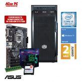 ACom i5 Allrounder G8 2018 - Windows 10 - Intel Core i5-8400 - 8 GB RAM - 240 GB SSD M.2 NVMe - DVD-Brenner - USB 3.0 - 500 Watt