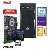 ACom i5 Allrounder G8 2018 - Windows 10 Pro - Intel Core i5-8400 - 8 GB RAM - 240 GB SSD M.2 NVMe - DVD-Brenner - USB 3.0 - 500 Watt