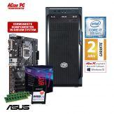 ACom i7 Allrounder G8 2018 - ohne Win - Intel Core i7-8700 - 16 GB RAM - 240 GB SSD M.2 NVMe - DVD-Brenner - USB 3.0 - 500 Watt