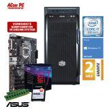 ACom i7 Allrounder G8 2018 - Windows 10 Home - Intel Core i7-8700 - 16 GB RAM - 240 GB SSD M.2 NVMe - DVD-Brenner - USB 3.0 - 500 Watt