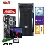 ACom i7 Allrounder G8 2018 - Windows 10 Pro - Intel Core i7-8700 - 16 GB RAM - 240 GB SSD M.2 NVMe - DVD-Brenner - USB 3.0 - 500 Watt