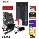 ACom Business CHEF PC 200 - Win10 Pro - AMD A8 9600 - 8 GB RAM - 240 GB SSD + 1 TB HDD - DVD-Brenner - GeForce GT 730 - WLAN - 3 Jahre Garantie