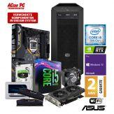 ACom Ultra Gamer M 2019 - Win 10 Pro - Core i5-9600K / 6x 3.7 GHz - 16 GB RAM - 500 GB SSD + 2 TB HDD - DVD-Brenner - GF RTX 2070 - WLAN, Bluetooth